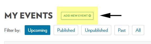 Click add new event