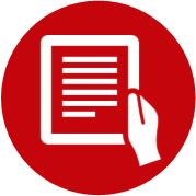 Icon which redirects to Online Learning Best Practices. You can also click on the caption below.
