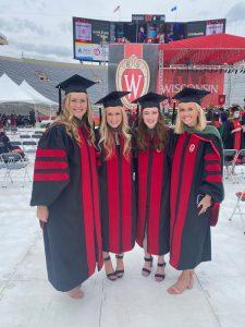 Natalie Mologne, DPT; Nikki Reil, DPT; Danielle Green, DPT; and Megan Lowe, DPT