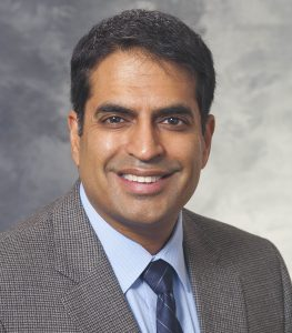 Photo of Ajay Sethi, PhD, MHS, who received a  2021 Chancellor's Distinguished Teaching Award.