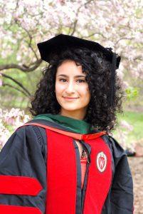 woman in academic attire